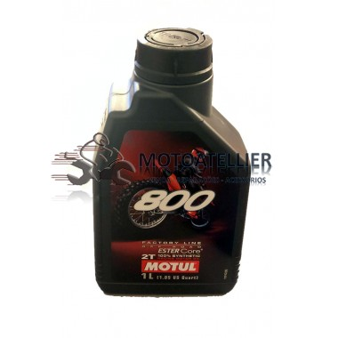 Óleo Motul 800 2T Factory Line Off Road (1 Ltr)